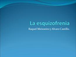 La esquizofrenia - Departamento de Ciencias Naturales