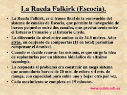 La Rueda Falkirk (Escocia).