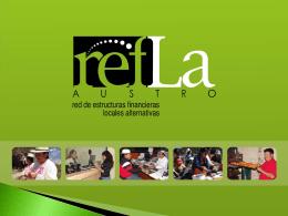 INFORME DE PRESIDENCIA DE REFLA