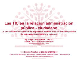 Informe Beca UNESCO