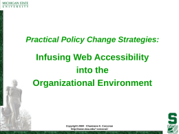PowerPoint Presentation - Practical Policy Change …