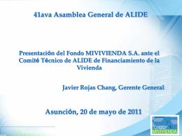 Fondo MIVIVIENDA S.A.