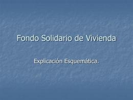 Fondo Solidario de Vivienda