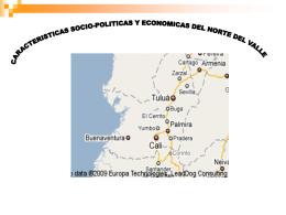 CARACTERISTICAS SOCIO-POLITICAS Y ECONOMICAS …