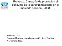 Industria de la Sardina. - CONAPESCA