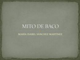 MITO DE BACO