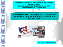 UNIVERSIDAD NACIONAL EXPERIMENTAL DE YARACUY …