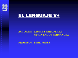 EL LENGUAJE V+