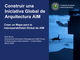 Global AIM Architecture Framework