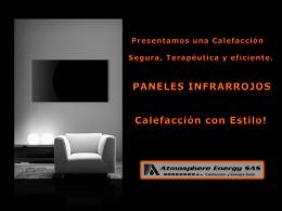 PANELES INFRARROJOS Calefaccion con estilo!