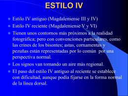 ESTILO IV