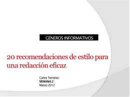 Seminario de Periodismo Digital 2.0