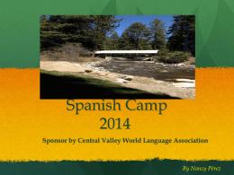 CVWLA Spanish Camp 2014