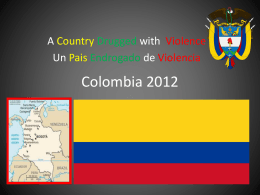 Colombia 2012