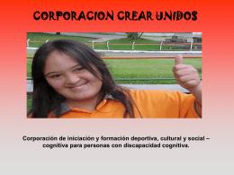 CORPORACION CREAR UNIDOS