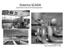 Sistema de control SCADA y Control Distribuido