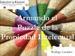 Armando el puzzle de la propiedad intelectual