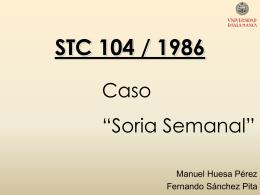 STC 104 / 1986