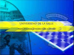 Diapositiva 1 - Universidad de La Salle