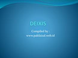DEIXIS - ABUDIRA FOREVER
