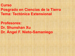 Diapositiva 1 - ..:: Centro de Geociencias ::.. UNAM