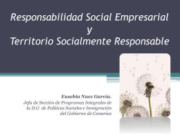 Responsabilidad Social Corporativa y Territorio