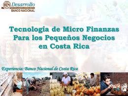 BANCO NACIONAL DE COSTA RICA BN DESARROLLO