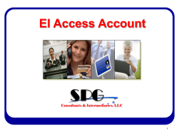 Access Account - BILL PAYING SOLUTIONS (BPS)