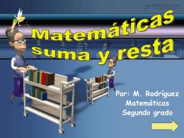Matematicas Suma y resta