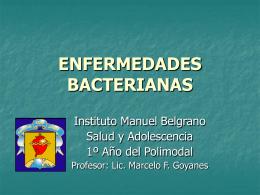 Las Enfermedades Bacterianas