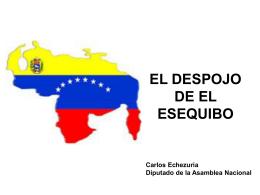 EL DESPOJO DE GUYANA