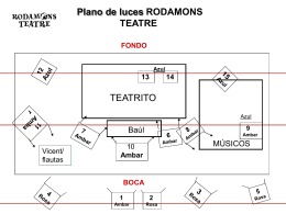 "Plano de luces ""Contes Rodats"""