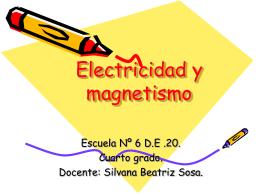 Electricidad y magnetismo - Bienvenido a Docentes