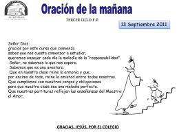 Diapositiva 1 - ORACIONESCUARESMA