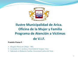 PowerPoint Template - Funcionarios Municipales Vitacura