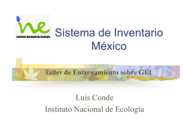 Sistema de Inventario - Climate Change Newsroom from …