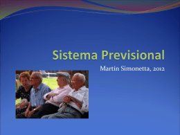 Sistema Previsional