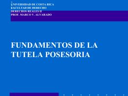 UNIVERSIDAD DE COSTA RICA FACULTAD DE DERECHO …