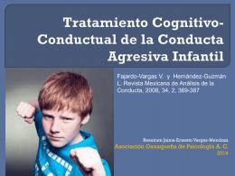 Tratamiento Cognitivo-Conductual de la Conducta …