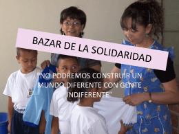 BAZAR DE LA SOLIDARIDAD