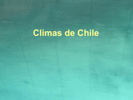 "Climas de Chile"". - BLOGS DE ASIGNATURAS TRUMBULL"