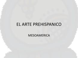 EL ARTE PREHISPANICO