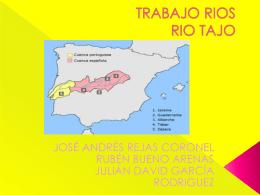 TRABAJO RIOS RIO TAJO