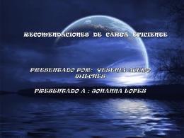 RECOMENDACIONES DE CARGA EFICIENTE