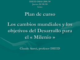 IUED-IMAS 2006/07 Lunes 04/09/06 Arequipa Plan de …