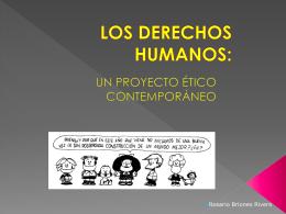 LOS DERECHOS HUMANOS: