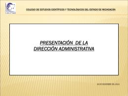RECURSOS HUMANOS - CECyTEM | Colegio de Estudios
