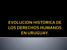 EVOLUCION HISTORICA DE LOS DERECHOS HUMANOS …
