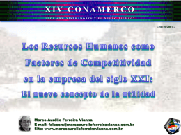 Los recursos humanos como factores de competitividad …