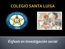 COLEGIO SANTA LUISA